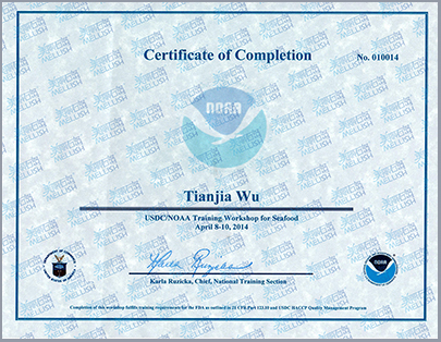 NOAA Certificate of Completion(美国NOAA证书 ).jpg